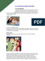 Modelos y Estilos de Aprendizaje