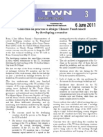 TWN Bonn Update No 3 Concerns on Process to Design Climate Fund Raised by Developing Countries