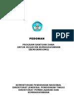 PROPOSAL ACUAN BANTUAN KEG MAHASISWA DIKTI 2011