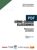 Manual Como Cubrir Elecciones