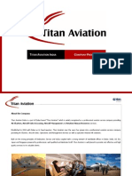 Titan Aviation India - Company Profile