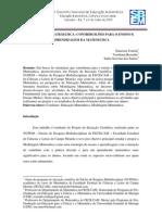 MODELAGEM MATEMÁTICA - CONTRIBUIÇÕES PARA O ENSINO E APRENDIZAGEM DA MATEMÁTICA