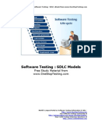 Sdlc Models eBook
