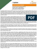 PRIL_Investor Update_Q3 FY 2011