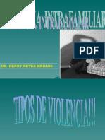 CLASE VIOLENCIA INTRAFAMILIAR
