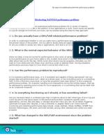 DL Checklist SAN Perf