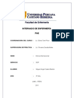 PAE Clinica Internacional SOP