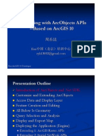Developing With Arc Objects APIs