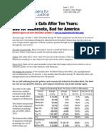 Minnesota Bush Tax Cuts