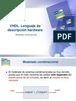 Sistemas Combinacionales en Vhdl