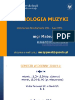 Migut - Psych.muzyki 2011 Sylabus