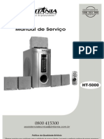 Britânia - Home Theater HT-5000 - Service Manual