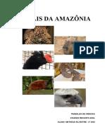animais da amazonia