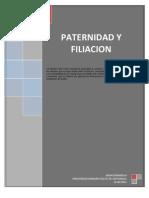 PATERNIDAD Y FILIACIÓN