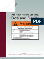 Arc Flash Hazard Labeling Do's and Don'Ts