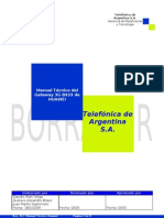 Manual Técnico del Gateway 3G B933 de HUAWEI