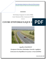 COURS D'HYDRAULIQUE ROUTIERE