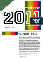 tendencias 2011 e insightpoint