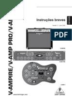 Manual V-Amp 2 português