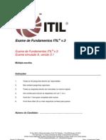 Sample Exam ITV3F Brazillian Portuguese A