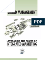 Brand Management Leveraging the Power of Integrated Marketing