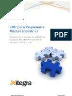 ERP para Pequenas e Médias Indústrias