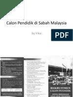 Calon Pendidik Di Sabah Malaysia