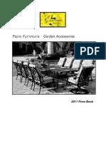 Essence Interiors 2011 Price Book