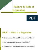 Market Failure & Role of Regulation 1[1]
