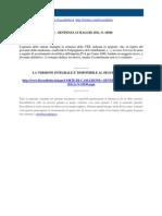 Corte Di Cassazione n 10540 2011