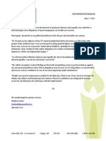 Redford Press Release