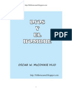 DIOS Y EL HOMBRE - Oscar W. Mcconkie, Hijo