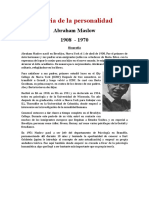 Abraham Maslow Teoria Del Yo