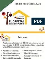 Rendición de Cuentas 2010 - MirandaCafetal