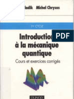 Introduction La M Canique Quantique
