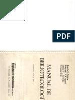 Sabor, Josefa, y otros - Manual de bibliotecología