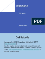 Inflazione (Slides 2011)