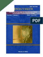 Revista Facultad Ciencias Salud