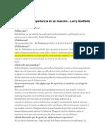 CONOCIENDO EL MÉTODO FELDENKRAIS I