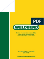 Catalogo weldbend