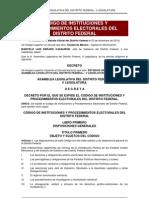 Código de Instituciones y Procedimientos Electorales del DF