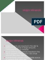 10 Major Minerals