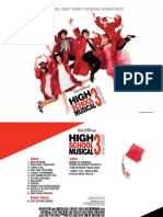High School Musical 3 the Senior Year Soundtrack [Digital Booklet]