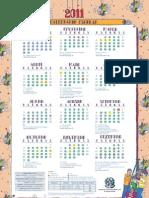 calendario SEDU 2011