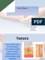 Paso Clínico suturas