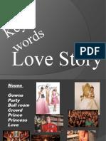 Love Stroy Key Words
