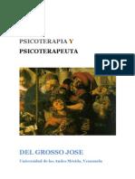 Teoria pia y Psicoterapeuta Del Grosso Josedocx