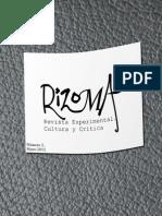 Rizoma. Revista experimental de crítica y cultura. Número 2