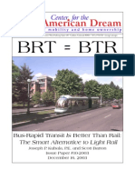 Bus-Rapid Transit Is Better Than Rail