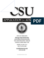 CSU Application 2011
